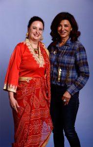 """Zusammen mit der """"Expanse""""-Schauspielerin Shoreh Aghdashloo"""