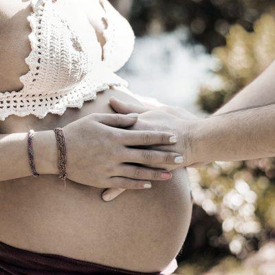 schwangerer Bauch